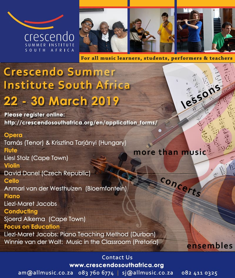 Crescendo Summer Inst Poster
